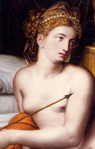 Venus And Cupid detail